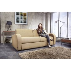 Jay-Be Sofa Beds Retro Deep Sprung Sofa Bed 3 Seater