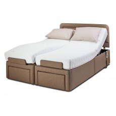 Sherborne Upholstery Dorchester Adjustable Bed with Deluxe Mattress