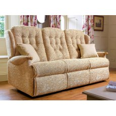 Sherborne Upholstery Lynton Knuckle Fixed 3-seater