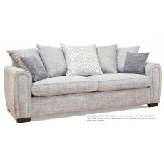 Alstons Memphis Grand Pillow Back Sofa