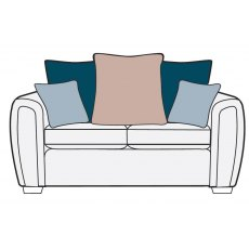 Alstons Memphis 2 Seater Pillow Back Sofa