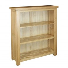 Real Wood Richmond Wide Bookcase