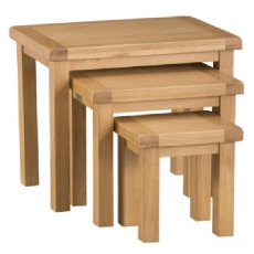 Hafren Collection KCO: Dining: Nest Of 3 Tables