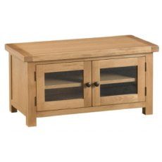 Hafren Collection KCO: Dining: Standard TV Unit With Glazed Doors
