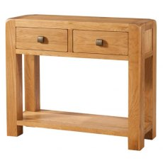 Devonshire Living: Avon 2 Drawer Console Table