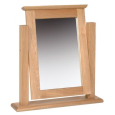 Devonshire Living: New Oak: single Mirror