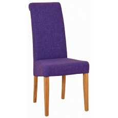 Devonshire Living: New Oak: Fabric Dining Chair