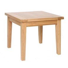 Devonshire Living: New Oak: Flip Top Extending Table