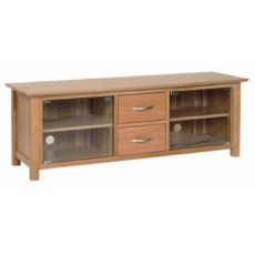 Devonshire Living: New Oak: Large TV Unit