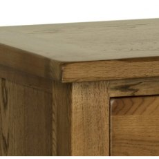 Devonshire Living: Rustic Oak: 2 Over 3 Chest