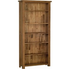 Devonshire Living: Rustic Oak: 6' Bookcase