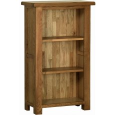 Devonshire Living: Rustic Oak: 3' Narrow Bookcase