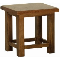 Devonshire Living: Rustic Oak: Side Table