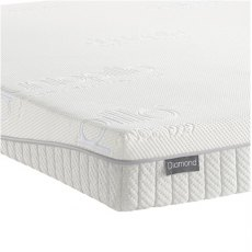 Dunlopillo 18cm Diamond Mattress (Medium Tension)