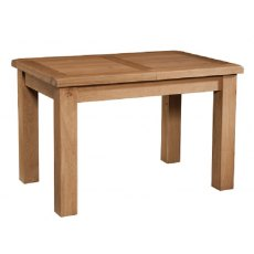 Devonshire Living: Somerset Oak: Table With 1 Extension