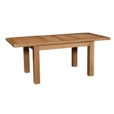 Devonshire Living: Somerset Oak: Table With 2 Extensions L