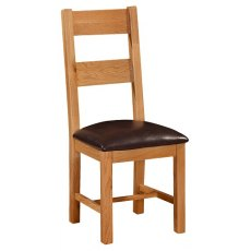 Devonshire Living: Somerset Oak: Ladder Back Chair