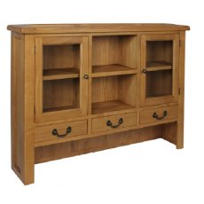 Devonshire Living: Somerset Oak: Large Dresser Top