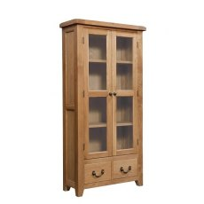 Devonshire Living: Somerset Oak: Display Cabinet