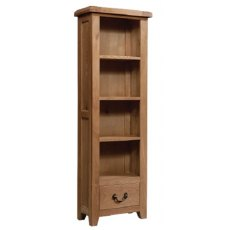 Devonshire Living: Somerset Oak: Narrow Bookcase