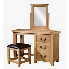Devonshire Living: Somerset Oak: Dressing Table