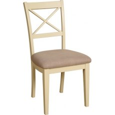 Devonshire Living Lundy Painted Cross Back Dining Chair