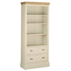 Devonshire Living: Lundy: Standard 6' Bookcase with Drawers