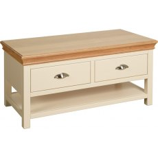 Devonshire Living: Lundy: Coffee Table 2 Drawers