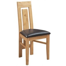 Devonshire Living: Siena Oak: Verona Dining Chair