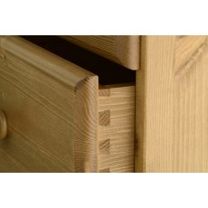 Devonshire Living: Torridge: 4 Drawer Bedside