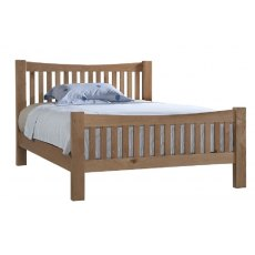 Devonshire Living: Dorset Oak: Slatted Beds