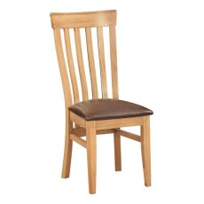 Devonshire Living: Dorset Oak: Toulouse Dining Chair