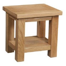 Devonshire Living: Dorset Oak: Lamp Table