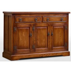 Wood Brothers Old Charm 3 Door Sideboard