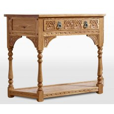 Wood Bros Old Charm Canted Console Table