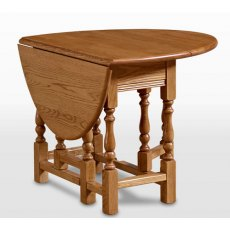 Wood Bros Old Charm Gateleg Table