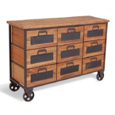 Bluebone Re-Engineered 9 Drawer Apothecary Chest