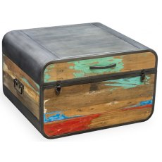 Bluebone Titanic Retro Trunk And Coffee Table