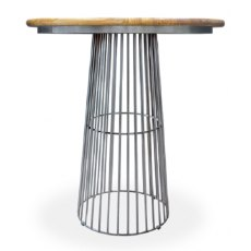 Bluebone Re-Engineered Birdcage Bar Table Mango Top