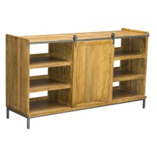 Bluebone Re-Engineered Sideboard With Sliding Door