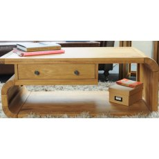 Bluebone Lounge Oak Coffee Table Drawer