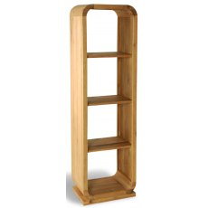 Bluebone Lounge Oak Open Back Shelf Unit 3 Shelves