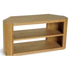 Bluebone Lounge Oak Corner TV Unit