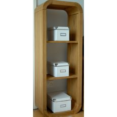 Bluebone Lounge Oak Petite 3 Hole Shelf Unit