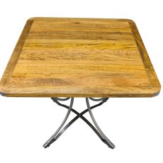 Bluebone Re-Engineered Square Cafe Table