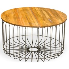 Bluebone Birdcage Bistro Round Coffee Table