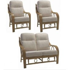 Desser Madrid 3pc Suite (2 seat sofa and 2 chairs)