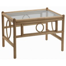 Desser Madrid Coffee Table Clear Glass