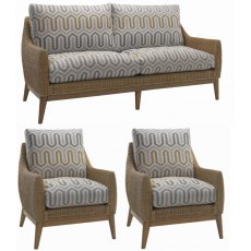 Desser Camden 3 Seater 3pc Suite (3str & 2 chairs)