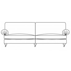 Duresta Burford Grand Split Sofa Classic Back